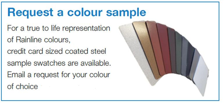 Request a colour sample