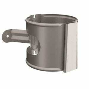 Lindab Screw to wall pipe bracket with wedge
