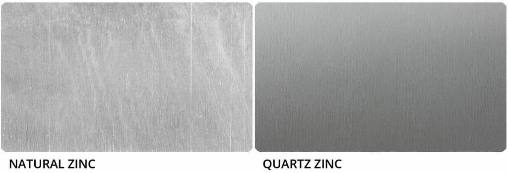 Natural vs Quartz Zinc Image